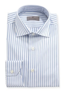 Canali Impeccabile Oxford-Stripe Dress Shirt