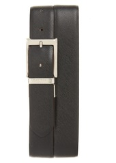 Canali Leather Reversible Belt