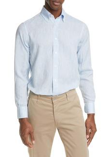Canali Linen Buttondown Shirt