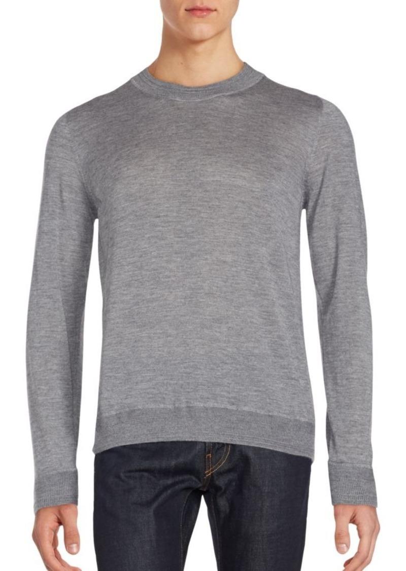 Canali Long Sleeve Crewneck Pullover