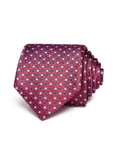 Canali Medallion Silk Classic Tie