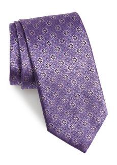 Canali Medallion Silk Tie (X-Long)