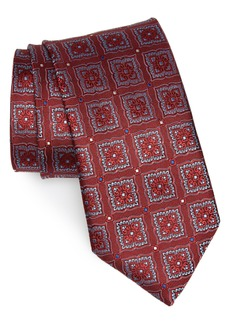 Canali Medallion Silk Tie (X-Long)