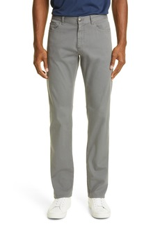 Canali Men's Classic Fit Straight Leg Stretch Jeans