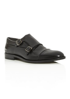 Canali Men's Double Monk-Strap Leather Oxfords