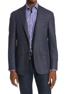 Canali Mélange Wool Sport Coat