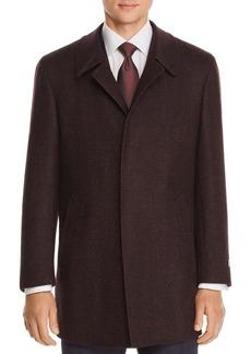 Canali M�lange Wool Twill Car Coat