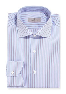 Canali Modern-Fit Multi-Stripe Dress Shirt