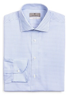 Canali Multi Check Regular Fit Dress Shirt