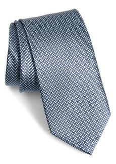 Canali Neat Silk Tie