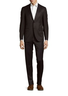 Canali Pinstripe Wool Jacket & Pants Suit