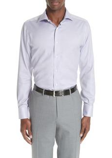 Canali Trim Fit Dress Shirt