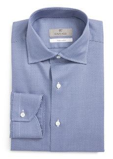 Canali Regular Fit Geometric Dress Shirt