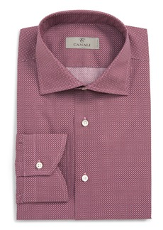 Canali Regular Fit Pattern Dress Shirt