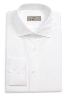 Canali Regular Fit Solid Dress Shirt