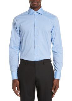 Canali Regular Fit Stretch Dot Dress Shirt