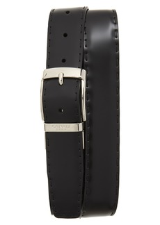 Canali Reversible Hand Sewn Leather Belt
