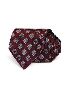 Canali Seasonal Diamond Medallion Classic Tie