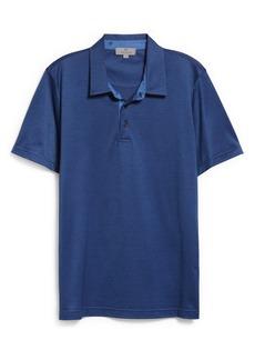 Canali Short Sleeve Cotton Polo