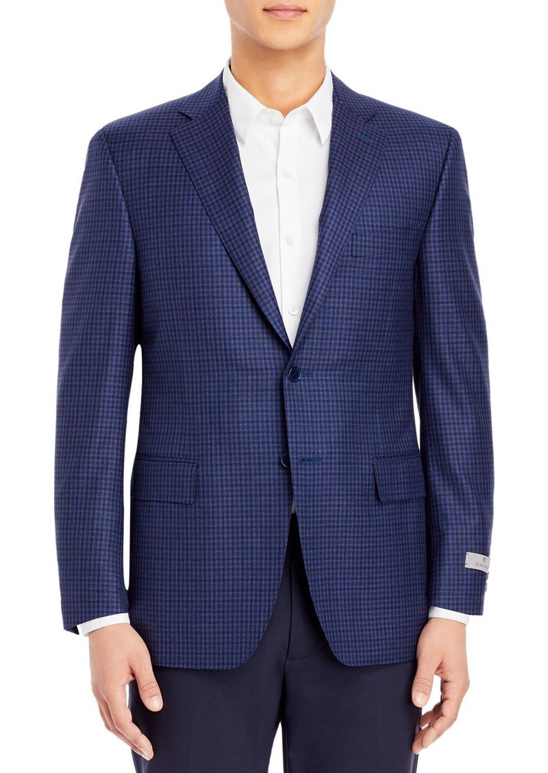 Canali Siena District Check Classic Fit Sport Coat