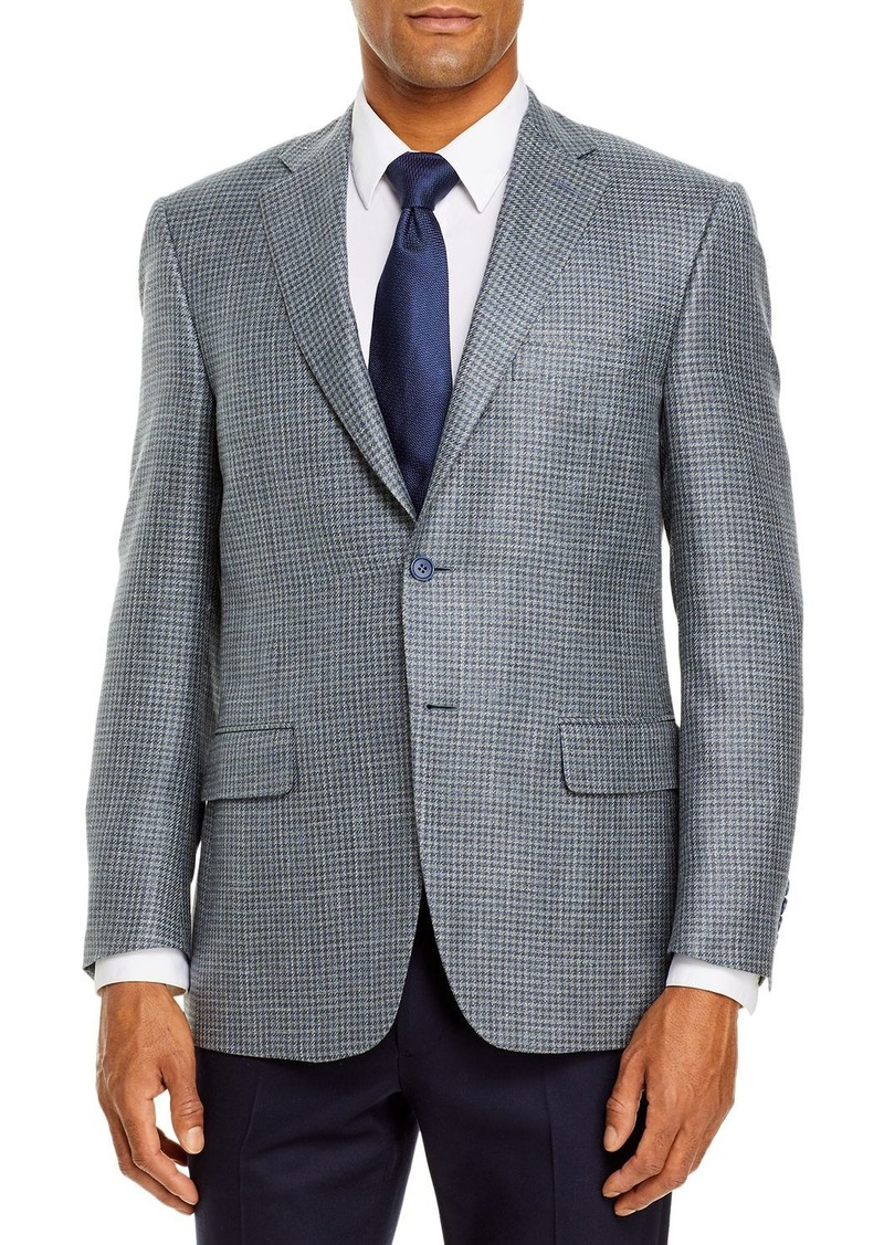 Canali Siena Houndstooth Classic Fit Sport Coat