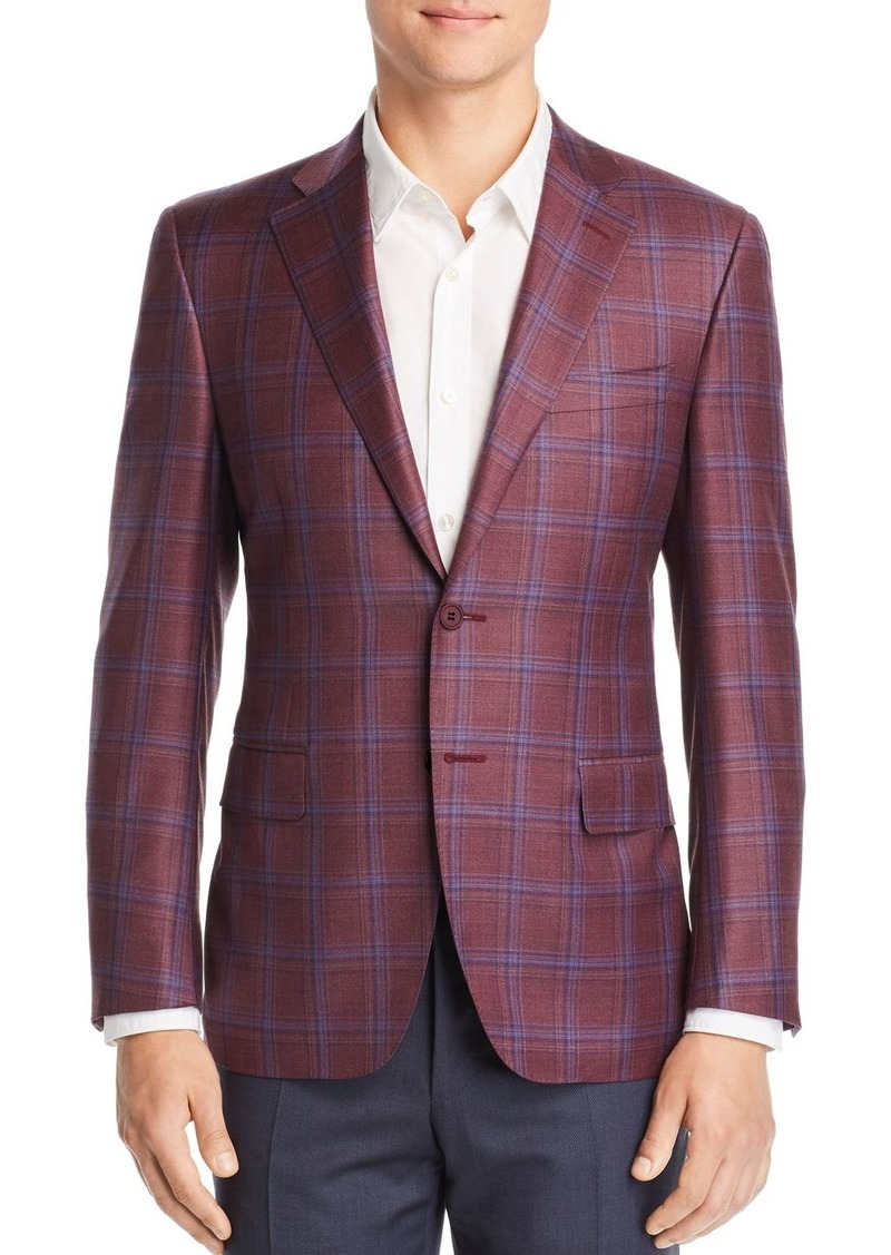 49aa8869602 Canali Canali Siena Plaid Classic Fit Sport Coat - 100% Exclusive ...