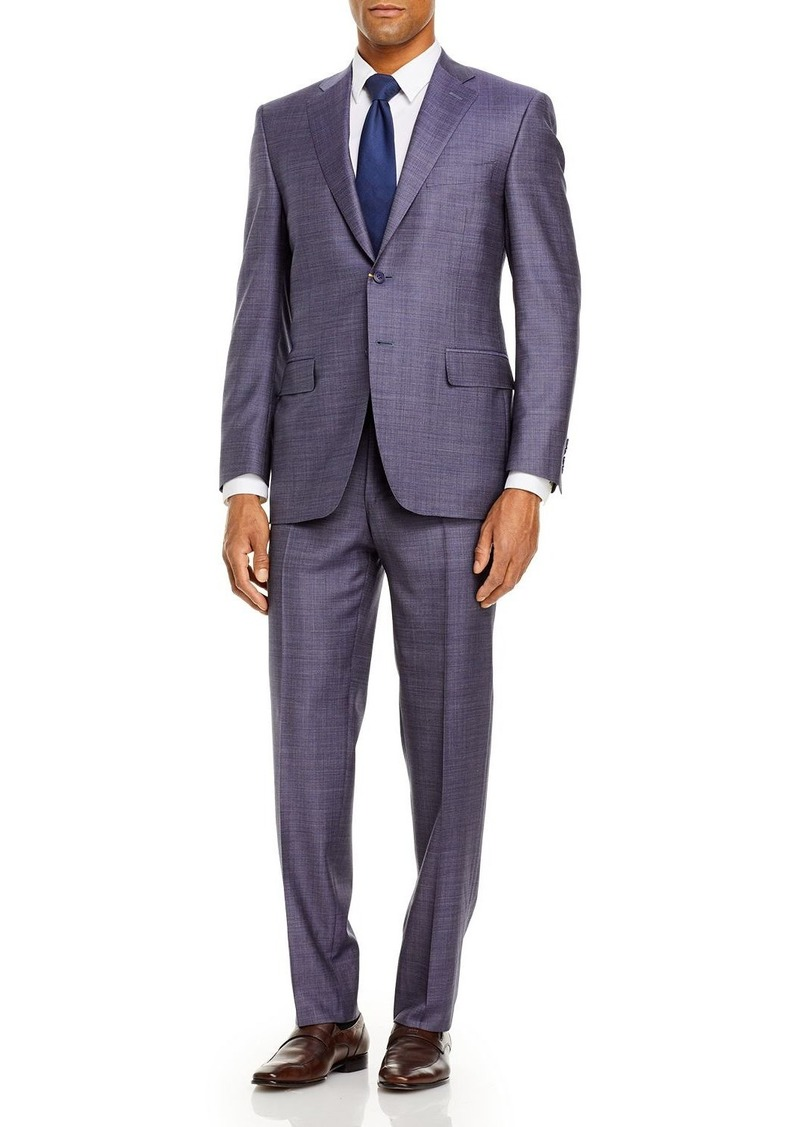Canali Siena Sharkskin Classic Fit Suit