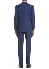 Canali Siena Soft Classic Fit Check Wool Suit