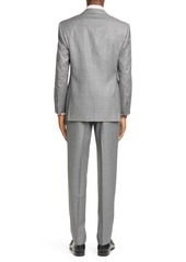 Canali Siena Soft Classic Fit Wool Suit