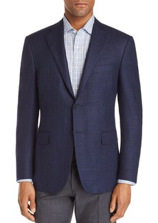 Canali Siena Textured Solid Classic Fit Sport Coat