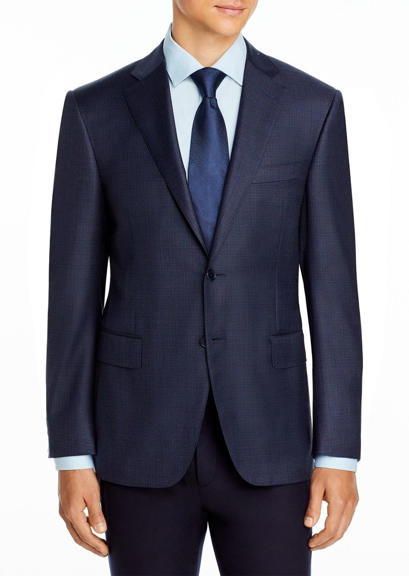Canali Siena Stencil Check Classic Fit Suit - 100% Exclusive