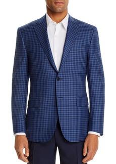 Canali Siena Tonal Check Classic Fit Sport Coat