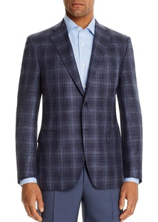 Canali Siena Tonal Plaid Classic Fit Sport Coat