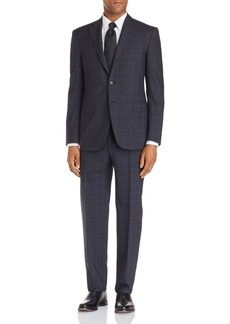 Canali Siena Windowpane Classic Fit Suit - 100% Exclusive