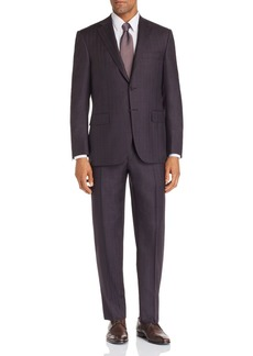 Canali Siena Windowpane Classic Fit Suit
