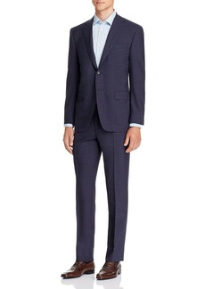 Canali Siena Check Classic Fit Suit