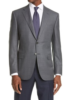 Canali Soft Check Wool Sport Coat