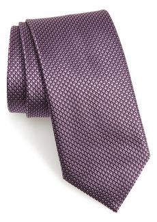 Canali Solid Silk Tie (X-Long)