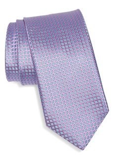 Canali Solid Silk X-Long Tie