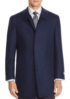 Canali Solid Wool Coat