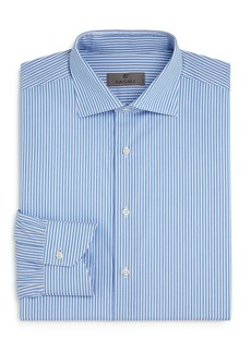 Canali Striped Regular Fit Dress Shirt
