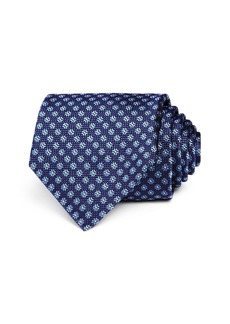 Canali Textured Flower Classic Tie