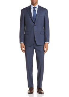 Canali Tic Weave Classic Fit Suit