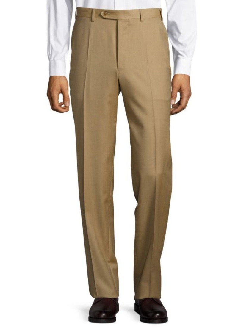 Canali Wool Four-Pocket Trousers