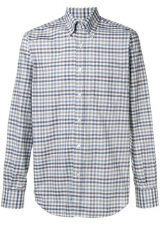 Canali checkered shirt