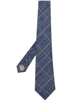 Canali checkered tie