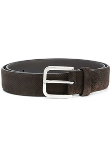 Canali classic buckled belt