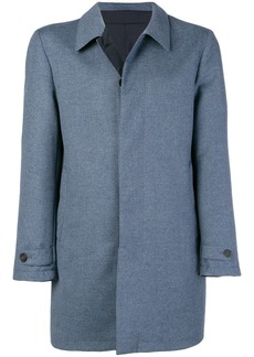 Canali concealed fastening coat