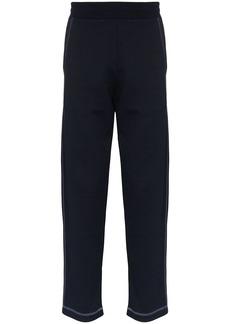 Canali contrast stitch jogging trousers