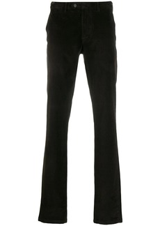 Canali corduroy straight leg trousers